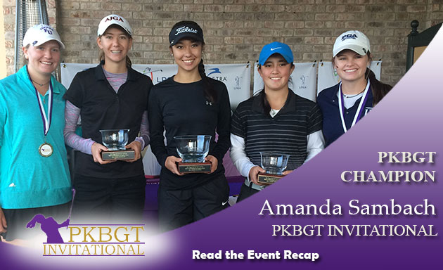 Recap: Sambach Wins 2017 PKBGT Invitational at Grandover Resort (East Course)