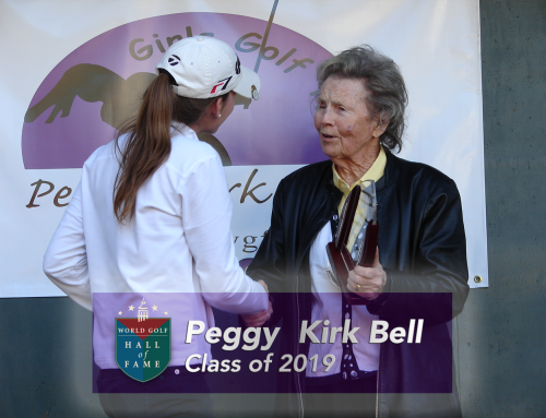 Peggy Kirk Bell Named to World Golf Hall of Fame