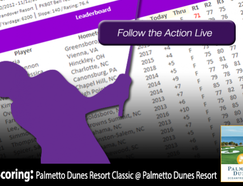 Update: Palmetto Dunes Resort Classic @ Palmetto Dunes Oceanfront Resort