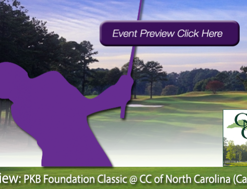 Preview: 2019 PKB Foundation Classic at Country Club of North Carolina (Cardinal)