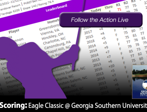 Update: Eagle Classic at Georgia Southern University Golf Course
