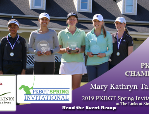Recap: 2019 PKBGT Spring Invitational at The Links at Stoney Point