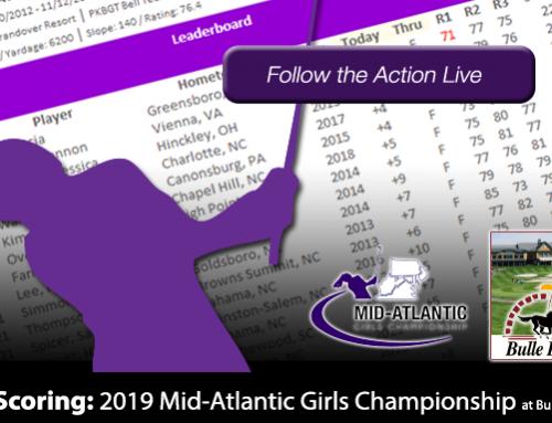 Update: 2019 PKBGT Mid-Atlantic Girls Championship at Bulle Rock GC