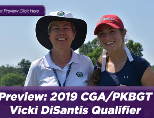Preview: 2019 CGA/PKBGT Vicki DiSantis Qualifier