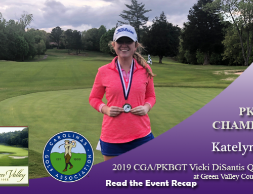 Recap: 2019 CGA/PKBGT Vicki DiSantis Qualifier at Green Valley Country Club
