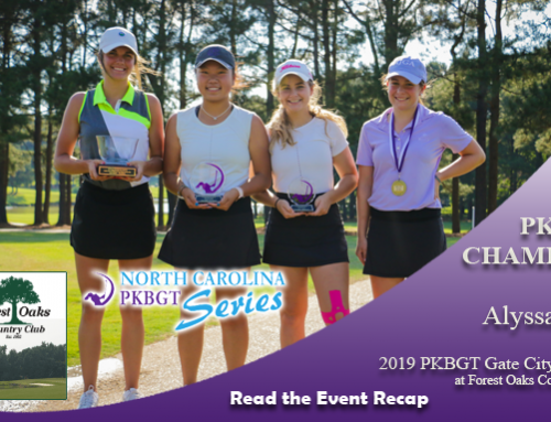 Recap: 2019 PKBGT Gate City Classic at Forest Oaks Country Club