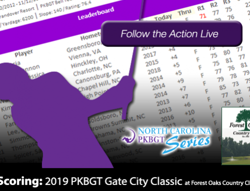 Update: 2019 PKBGT Gate City Classic at Forest Oaks Country Club