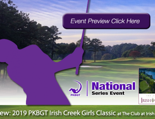 Preview: 2019 PKBGT Irish Creek Girls Classic at The Club at Irish Creek