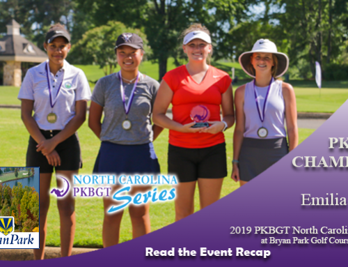 Recap: 2019 PKBGT North Carolina Series at Bryan Park Golf Course (Players)