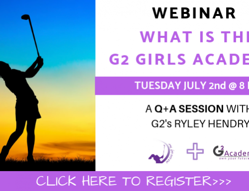 WEBINAR: What is the G2 Girls Golf Academy?