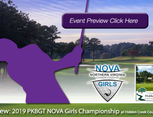 Preview: 2019 PKBGT NOVA Girls Championship at Hidden Creek Country Club