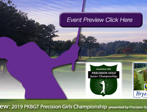 Preview: 2019 PKBGT Precision Girls' Championship at Bryan Park Golf Course (Champions)