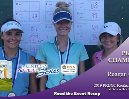 Recap: 2019 PKBGT Kentucky Series at Gibson Bay Golf Course