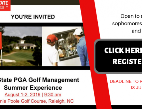 NC State Professional Golf Management Summer Experience