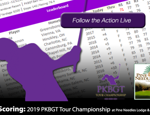 Update: 2019 PKBGT Tour Championship at Pine Needles Lodge