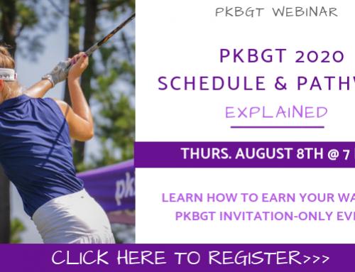WEBINAR: PKBGT 2020 Schedule & Pathway Explained