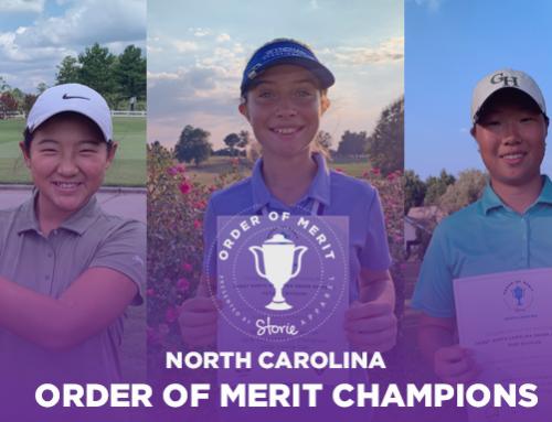 2019 North Carolina Series Order of Merit Champions