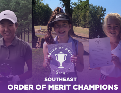 2019 Southeast Series Order of Merit Champions