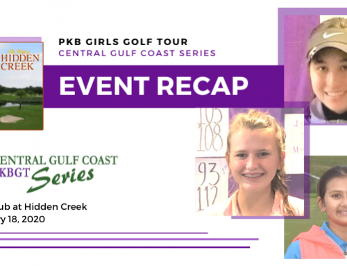 Recap: PKBGT Central Gulf Coast Series at The Club at Hidden Creek