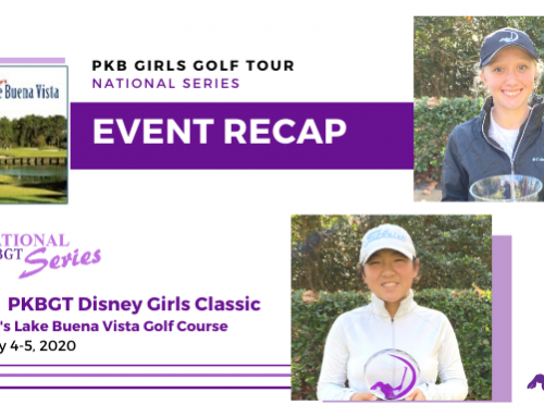 Recap: Disney Girls Classic at Walt Disney Resort (Lake Buena Vista Golf Course)