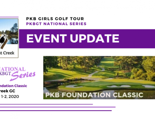 Update: PKB Foundation Classic at Forest Creek GC