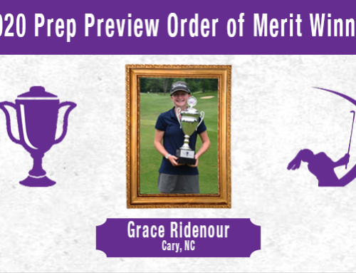 PKBGT Announces Prep Preview Order of Merit Winner
