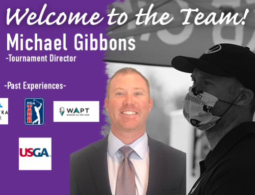 PKBGT Welcomes Michael Gibbons to Tournament Staff