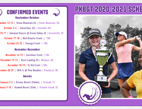 PKBGT Fall/Winter 2020-21 Schedule Released