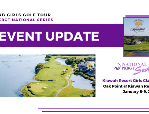 Update: Kiawah Resort Girls Classic