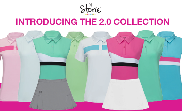 Storie Apparel Launches 2.0 Collection to Raise The Standard for Junior Girls Golf