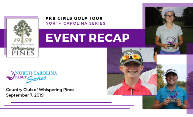Recap: North Carolina One-Day Series at CC of Whispering Pines