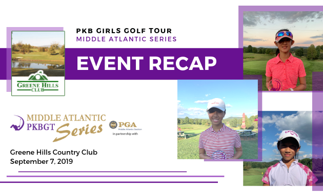 Recap: 2019 PKBGT Middle Atlantic Series at Greene Hills CC