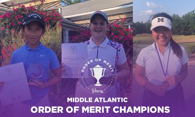 2019 Middle Atlantic Series Order of Merit Champions
