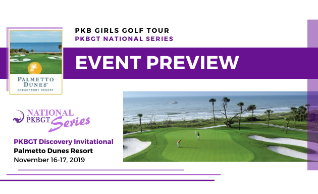 Preview: 2019 Discovery Invitational at Palmetto Dunes Oceanfront Resort