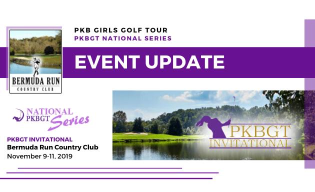 Update: Round 1 PKBGT Invitational at Bermuda Run CC