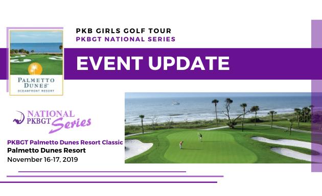 Update: Palmetto Dunes Resort Classic
