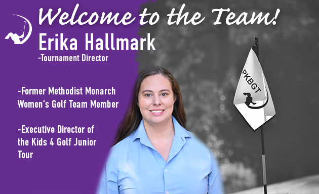 PKBGT Welcomes Erika Hallmark to Golf Operations Team