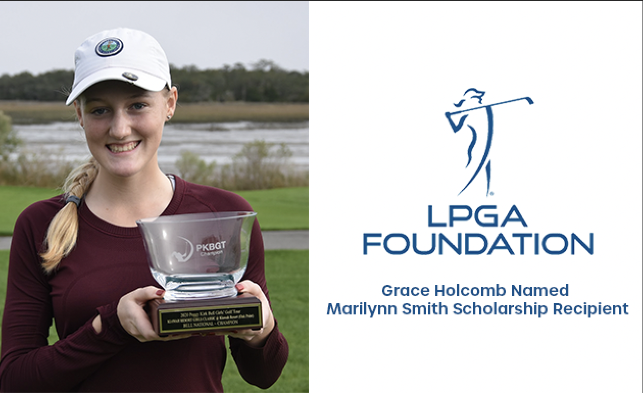 PKBGT Tour Member Awarded National LPGA Scholarship